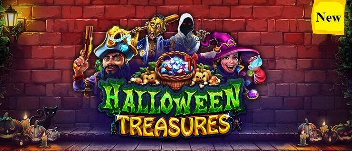 Halloween Treasures by RealTime Gaming