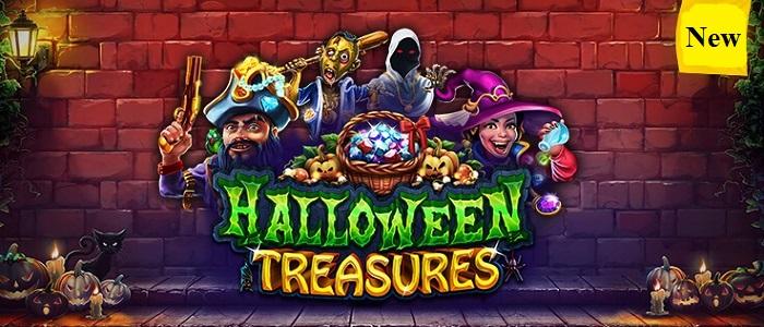 Halloween Treasures by RealTime Gaming